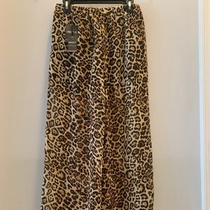 Forever 21 Contemporary Leopard Print Pants